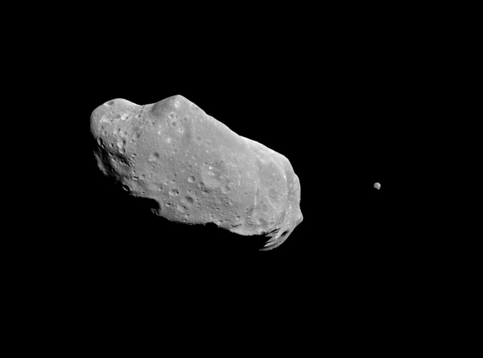 Asteroid Ida and its Dactyl moon article
